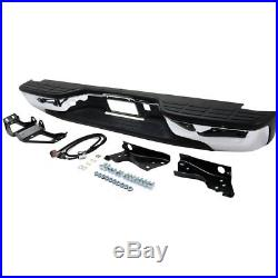 Chrome Step Bumper 99-07 Chevrolet Silverado GMC Sierra 1500 2500 Excl. SS Models