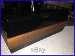 Cj J. Walker Turntable Model Cj55 W Mas Tonearm For Parts Or Repair Working