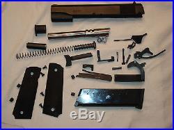 Colt Model 1911 Parts Kit, 45 ACP Black finish withmagazine 5 barrel black finish