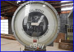 Commercial Toledo Scale Co. Scale Model 3452 For Parts