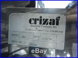 Crizaf Model ATS Parts Separator injection molding