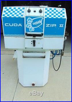 Cuda Zip II Parts Washer Model 2216-1 phase-With Flo Jet Ind. Pump 5100-010 S2387
