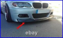 Cuplippe Spoiler Schwert Lippe 3 E46 Coupe Cabrio passend für M3 Modell aus ABS