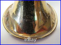 DAMAGED Bach Stradivarius Model 37 Trumpet ML 55675 AS IS FOR PARTS