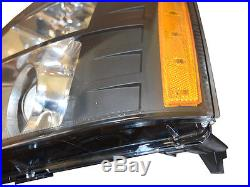 DEPO 07-14 Cadillac Escalade Black Projector HID Headlight for D1S Xenon Models