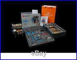 DIY Full Metal Model 357 Parts Assembly Engine Motor Kit 4 Cylinder Toy Gift