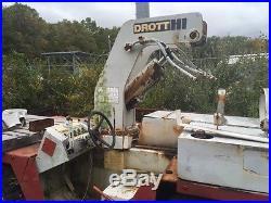 DROTT CASE CARRY DECK CRANE MODEL 3330 Comes with extra Parts Crane
