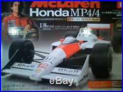 Diagostini Magazine & Model Parts Complete 70 Set 1/8 Mclaren MP4/4 Senna610