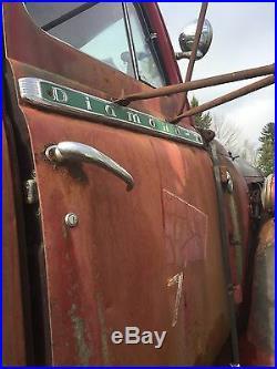 Diamond T Truck Old Cab Reo Parts Doc Repair Rat Rod Project Chop Model 720