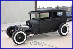 Double Z'd Model A Ford hot rod chassis LOW and engineered to work beauty