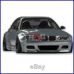 E46 3 Series M3 99-05 BMW full wide body kit Lip Sides Wing fiberglass GT-E46FK