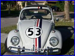 EXACT! Herbie The Love Bug Decals Vehicle Graphics Stickers & Late Model Kits
