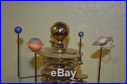 Eaglemoss Orrery Build A Model Solar System Brass Gear Motorized Missing Parts