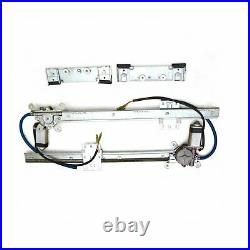 Early Studebaker Power Window Kit hot rod glass lot parts BRAND NEW cable drive