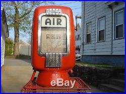 Eco air meter, eco Model 97, Tireflator Gas Station Air pump with extra NEW parts
