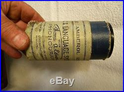 Edison Model A cylinder phonograph circa 1903 parts/ repairs (untested)