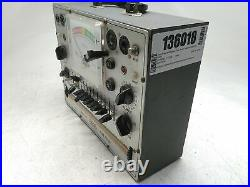 Eico Model 628 Vintage Tube Tester Untested AS-IS for Parts