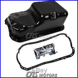 Engine Oil Pan with Gasket for 1996-00 Honda Civic Del Sol 1.6L SOHC 11200-P2A-000