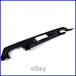 Euro Style Gloss black-out Rear Diffuser Kits fits 16-18 Honda Civic x Sedan 4Dr
