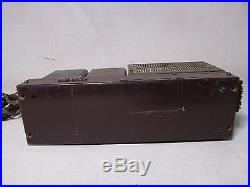 Fisher Model 100 Amplifier Tube Mono Block For Parts Or To Be Repaired As Is