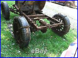 Ford Farm Tractor Made With Model A And Model Tt Parts