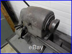 For Parts Only Logan 11 Swing Lathe Model 1925-h 16 Speed 24 & 36 Centers