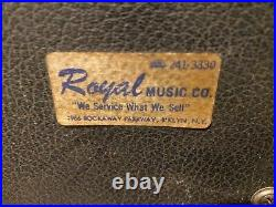 Fender EMPTY Twin Reverb AMPLIFIER CABINET and parts