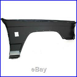 Fender For 1997-2001 Jeep Cherokee Front Driver Primed Steel with Molding Holes