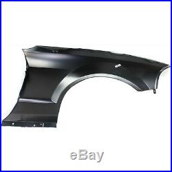 Fender For 2005-2009 Ford Mustang Front Driver Side Primed Steel