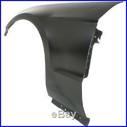 Fender For 2010-2014 Ford Mustang Front Driver Side Primed Steel CAPA