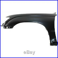 Fender For 95-2000 Toyota Tacoma DLX Set of 2 Front Left & Right Primed Steel