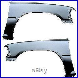 Fender Set For 1989-1995 Toyota Pickup RWD Models Front Primed Steel Pair