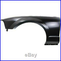 Fender Set For 2005-2009 Ford Mustang Front Primed Steel Pair