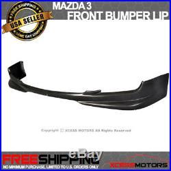 Fit 07-09 Mazda 3 4Door S Model N1 Style PU Front Bumper Lip Spoiler PU