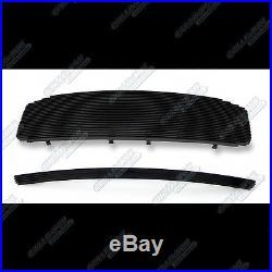 Fits 06-08 Dodge Ram Regular Model Black Billet Grille Combo