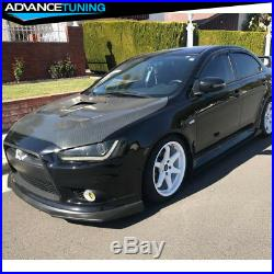 Fits 09-15 Mitsubishi Lancer RA Front Bumper Lip For Ralliart GT GTS Model Only