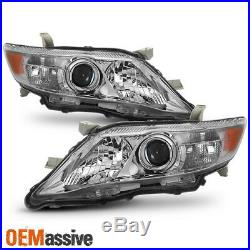 Fits 10-11 Toyota Camry LE XLE US Built Model Projector Headlights Replacement