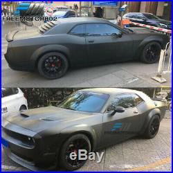 Fits 15-19 Dodge Challenger Hellcat to Demon Conversion Lip + Fender Flares PP