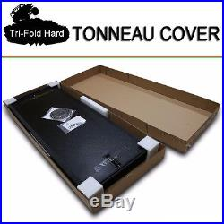 Fits 2009-2017 DODGE RAM 1500 Tri-Fold Solid Hard Tonneau Cover 6.5ft (78) Bed