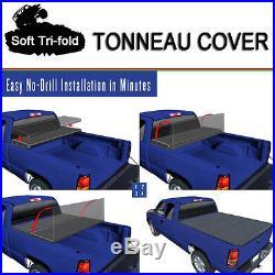 Fits 2014-2017 SILVERADO Premium Tri-Fold Tonneau Cover 5.8ft 69.6 Short Bed