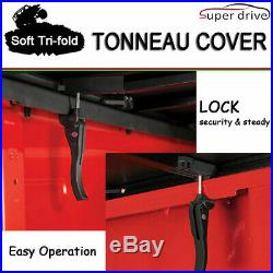 Fits 2015-2019 FORD F150 Assemble Lock Solid Tri-Fold Tonneau Cover 6.5ft Bed