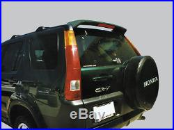 Fits HONDA CRV UNPainted Spoiler Wing withChrome Trim Piece fits 2002-2006 MODELS