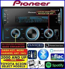 Fits Select Toyota & Scion Models Bluetooth Am/fm Aux Usb Car Radio Stereo Pkg