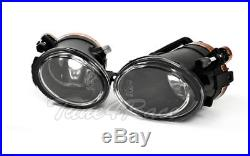 For 00-05 BMW E46 3-Series 2Dr M3 Style Front Bumper & clear fog lights Coupe