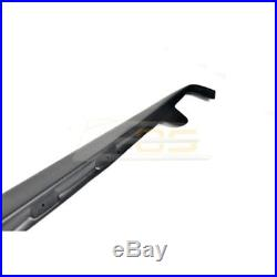 For 05-13 Corvette C6 Base Model ZR1 Style Side Skirt Rocker Panels Extensions