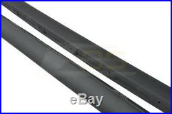For 05-13 Corvette C6 Base Models ZR1 Style Side Skirts Rocker Panels Mud Flaps