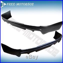 For 08-15 Mitsubishi Lancer B Style Pp Rear Bumper Lip Spoiler Bodykit