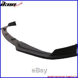 For 14-17 Infiniti Q50 Base Model Front Bumper Lip Spoiler PU