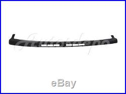 For 2000-2006 Suburban Z71 Model Front Bumper Face Bar Black Cap Air Dam Bracket