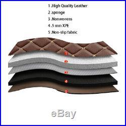 For 2001-2019 Ford Mustang all models luxury custom waterproof floor mats